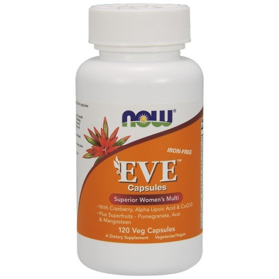 NOW Foods EVE Woman`s Multi / НАУ Фудс EVE мултивитамини за жени 120 капсули