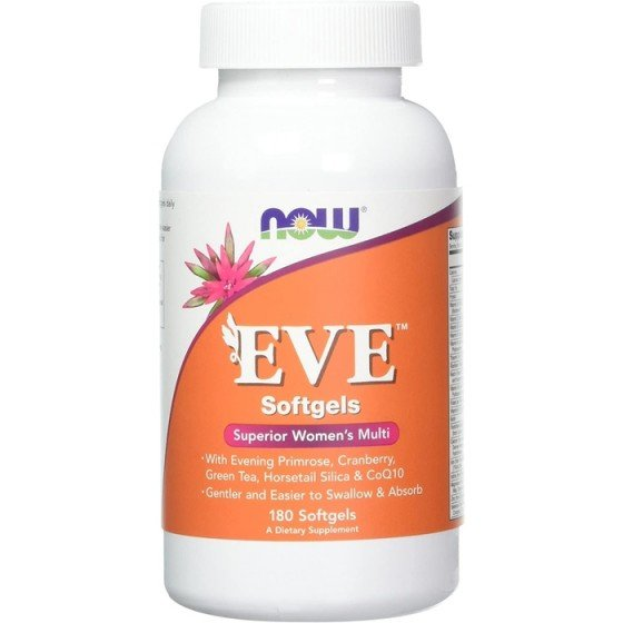 NOW Foods EVE Woman`s Multi / НАУ Фудс EVE витамини за жени 180 дражета