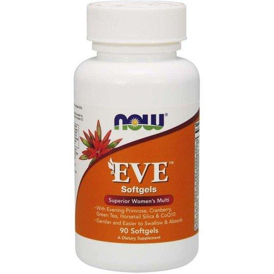 NOW Foods EVE Woman`s Multi / НАУ Фудс EVE мултивитамини за жени 90 дражета