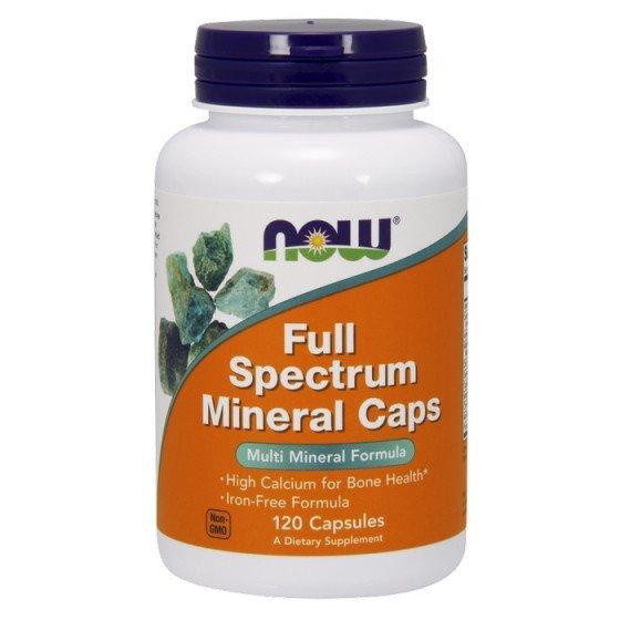 NOW Foods Full Spectrum Minerals / НАУ пълен спектър минерали 120 капсули