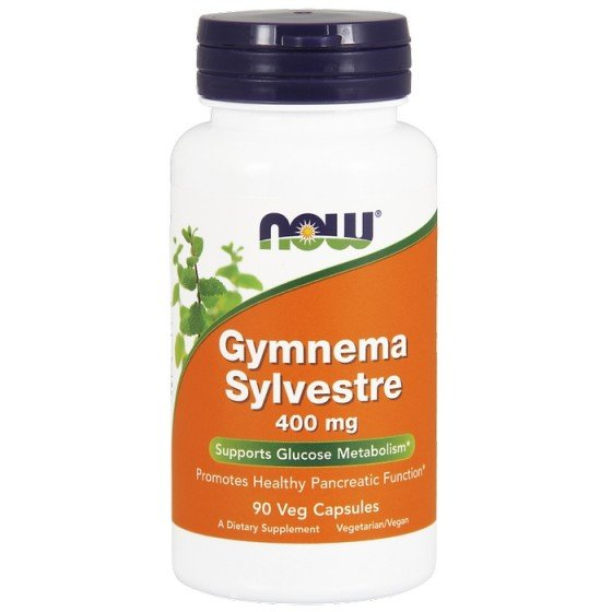 NOW Foods Gymnema Sylvestre / НАУ Фудс Гимнема Силвестре 400 мг 90 капсули