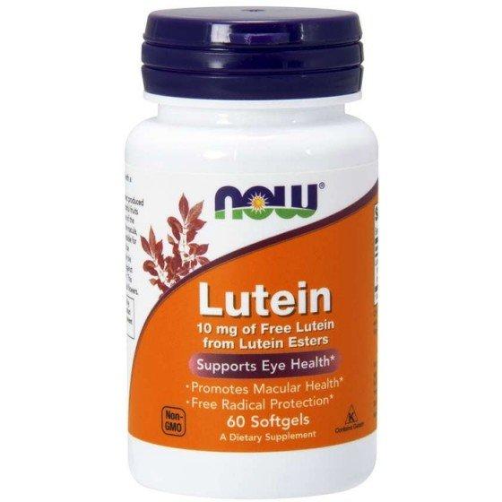 NOW Foods Lutein / НАУ Фудс лутеин за очно здраве 60 дражета