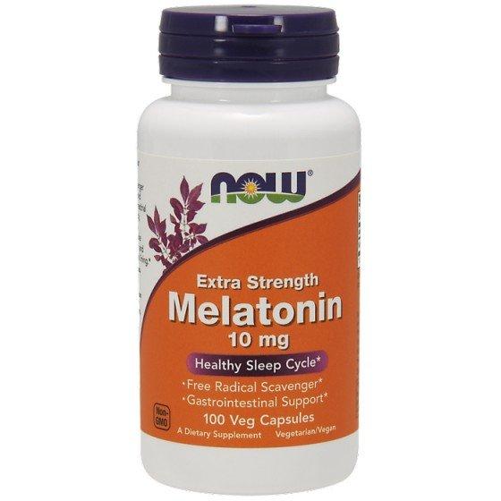 NOW Foods Melatonin / НАУ Фудс мелатонин 10 мг 100 капсули