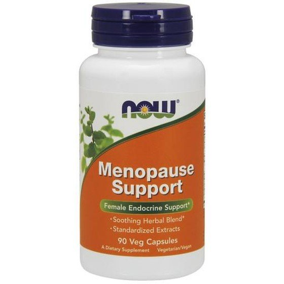 NOW Foods Menopause Support / НАУ Фудс билки при менопауза 90 капсули
