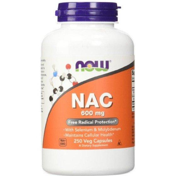 NOW Foods N-Acetyl Cysteine / НАУ Фудс Н-ацетил Цистеин 600 мг 250 капсули