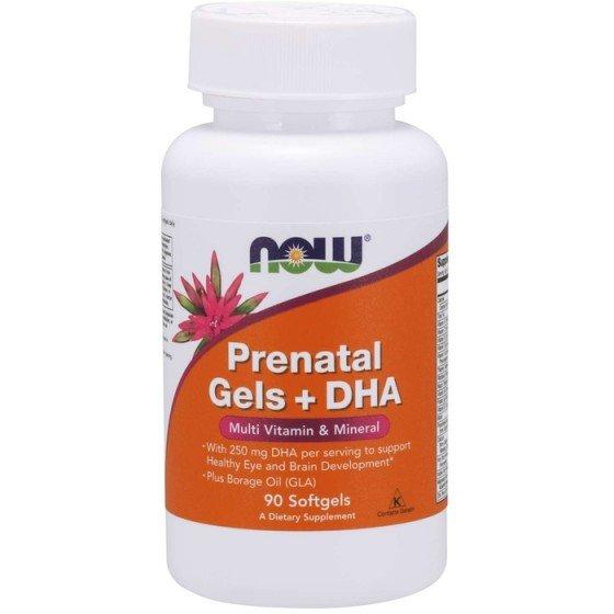 NOW Foods Pre-Natal и DHA / НАУ Фудс омега-3 и витамини за бременни