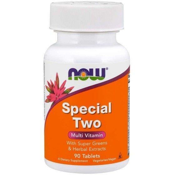 NOW Foods Special Two / НАУ Фудс витамини за спортуващи 90 таблетки