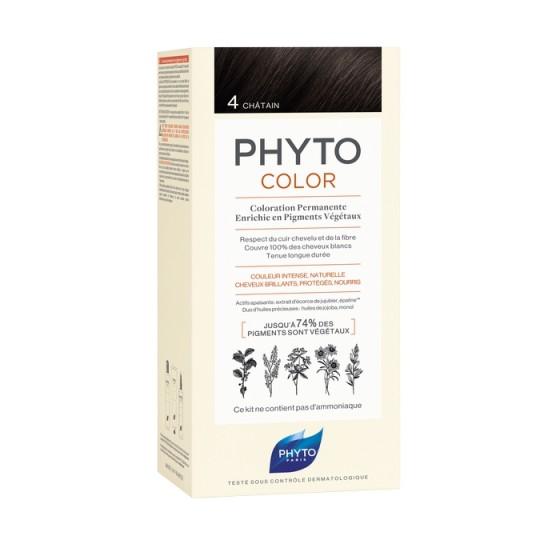 PHYTOcolor / ФИТО Боя за коса 4 Кестен