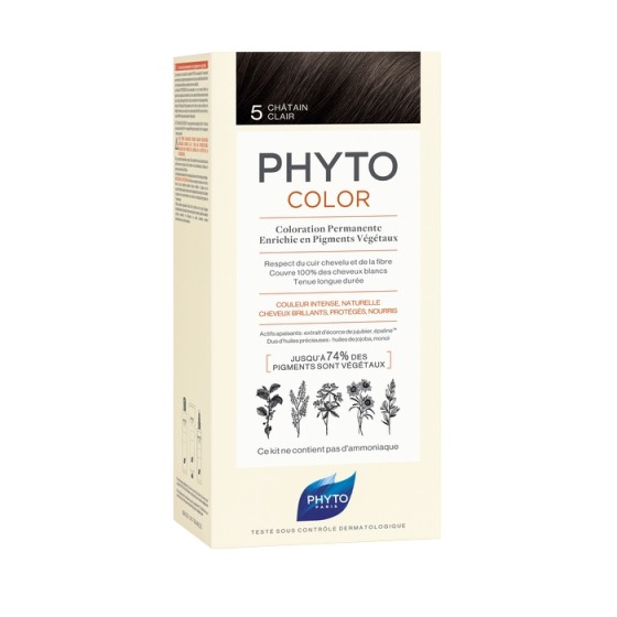 PHYTOcolor / ФИТО Боя за коса 5 Светъл кестен