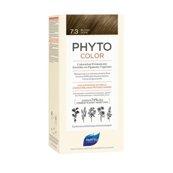 PHYTOcolor / ФИТО Боя за коса 7 Златисто русо