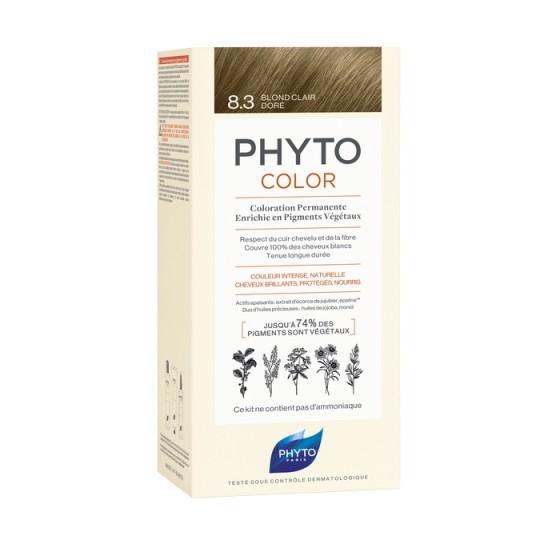 PHYTOcolor / ФИТО Боя за коса 8.3 Светло златисто русо