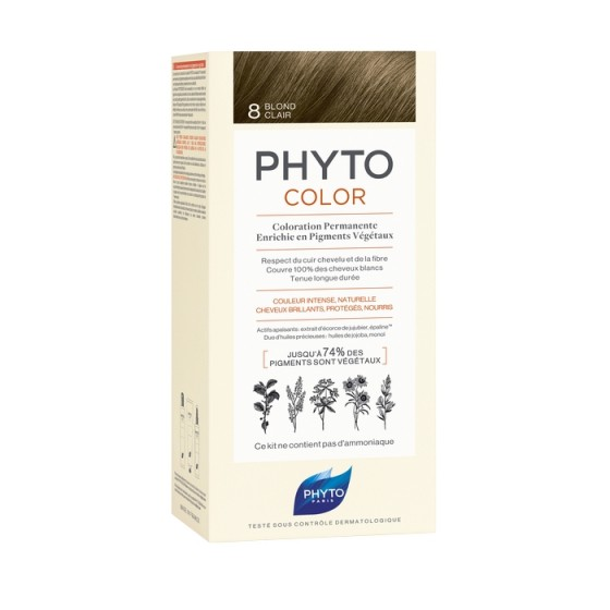 PHYTOcolor / ФИТО Боя за коса 8 Светло русо