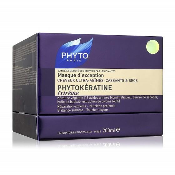 PHYTOkeratine Extreme / ФИТО Фитокератин Екстрийм възстановяваща маска за силно увредена коса 200 мл