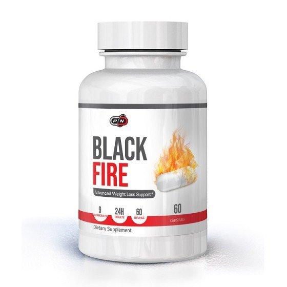 PURE NUTRITION Black Fire термогенен фетбърнър 60 капсули