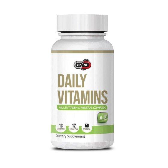 PURE NUTRITION Daily Vitamins мултивитамини 50 таблетки