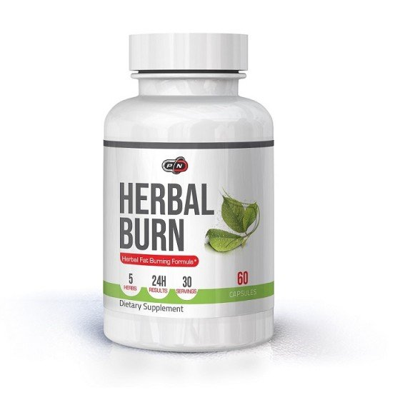 PURE NUTRITION Herbal Burn натурален липотропен фетбърнър 60 капсули