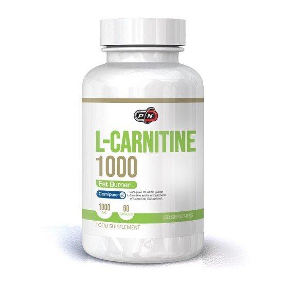 PURE NUTRITION L-carnitine / Л-карнитин 1000 мг 60 капсули