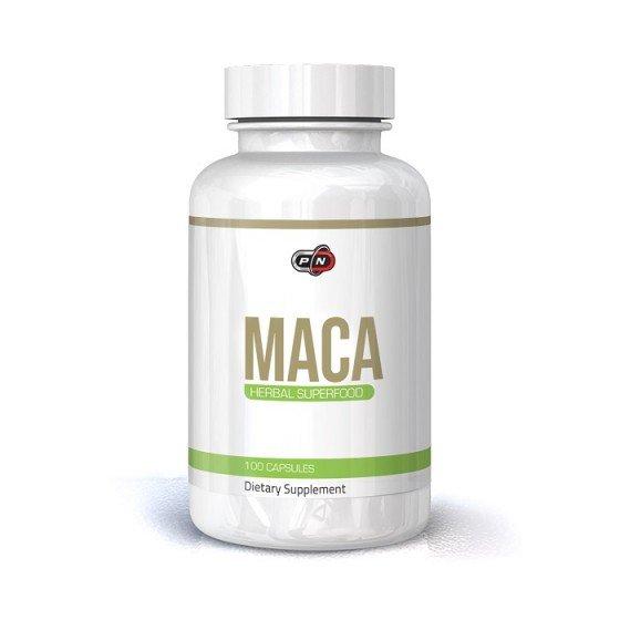 PURE NUTRITION Maca / Мака 500 мг 100 капсули