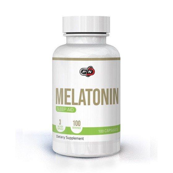 PURE NUTRITION Melatonin / Мелатонин 3 мг 100 капсули