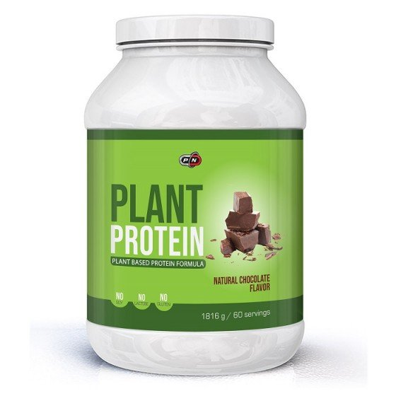 PURE NUTRITION Natural Chocolate растителен протеин 1816 г