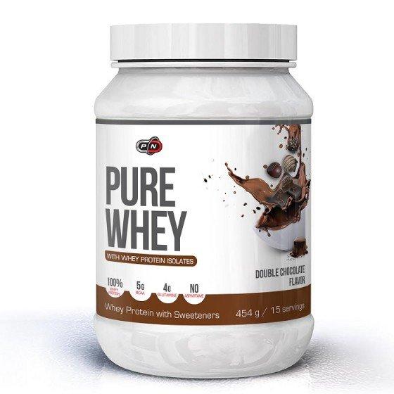 PURE NUTRITION Pure Whey Double Chocolate суроватъчен протеин 454 г