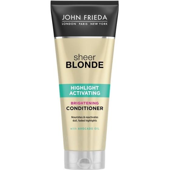 JOHN FRIEDA Sheer Blonde / ДЖОН ФРИДА хидратиращ балсам за руса коса 250 мл