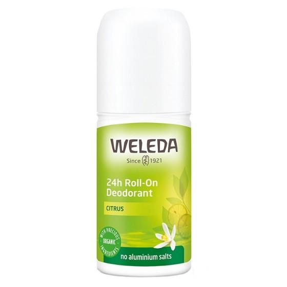 WELEDA / ВЕЛЕДА Рол-он против изпотяване с цитрус 24 часа 50 мл