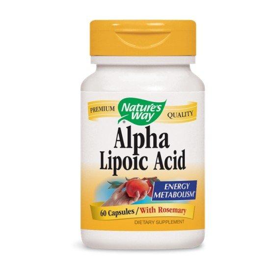 Nature's Way / Нейчърс Уей Алфа-липоева киселина 60 капсули за регенерация на клетките и организма