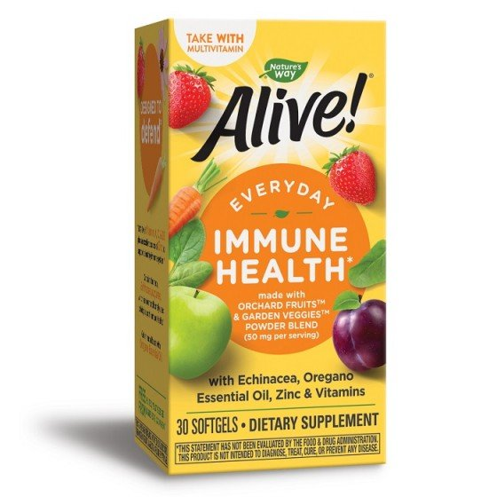 Alive Immune Health / Алайв за постоянен имунитет 30 капсули