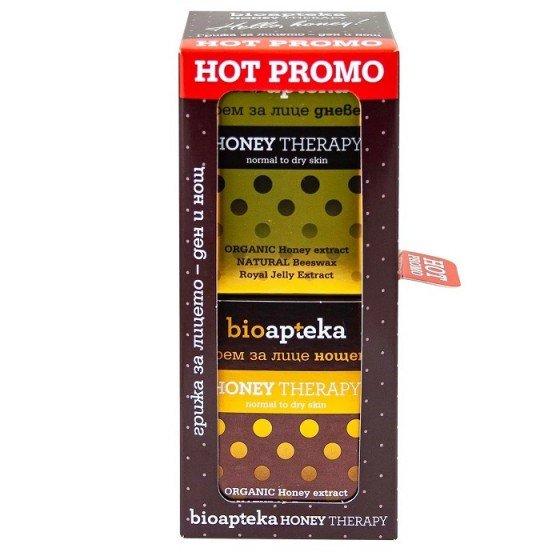 Bioapteka Honey Therapy дневен и нощен крем за лице с мед