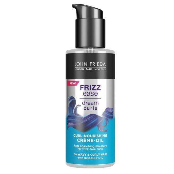 JOHN FRIEDA Frizz Ease  / ДЖОН ФРИДА стилизиращо балсам-олио за къдрици 100 мл