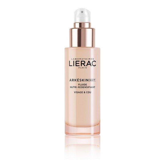 LIERAC Arkeskin / ЛИЕРАК Аркескин Възстановяващ нощен флуид за лице и шия за жени в менопауза 50 мл