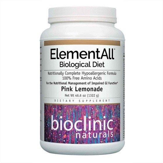 NATURAL FACTORS / НАТУРАЛ ФАКТОРС ElementAll Biological Diet с вкус на лимонада х 1322 г пудра