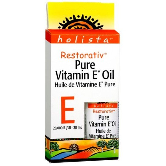 NATURAL FACTORS / НАТУРАЛ ФАКТОРС Витамин E RESTORATIV® (чисто масло) 28000 IU x 28 мл