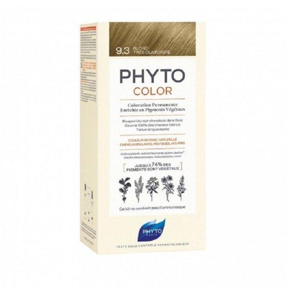 PHYTOcolor / ФИТО Боя за коса 9.3 много светло златно русо
