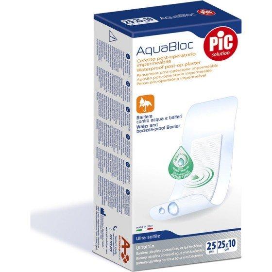 PIC solution / Пик сълюшън Пластир Акваблок Постоперативен 25 x 10 см 25 бр