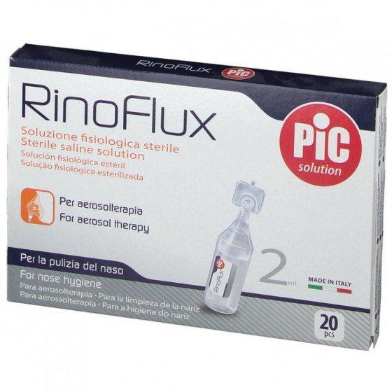 PIC solution / Пик сълюшън Физиологичен разтвор RinoFlux 20 флакона по 2 мл