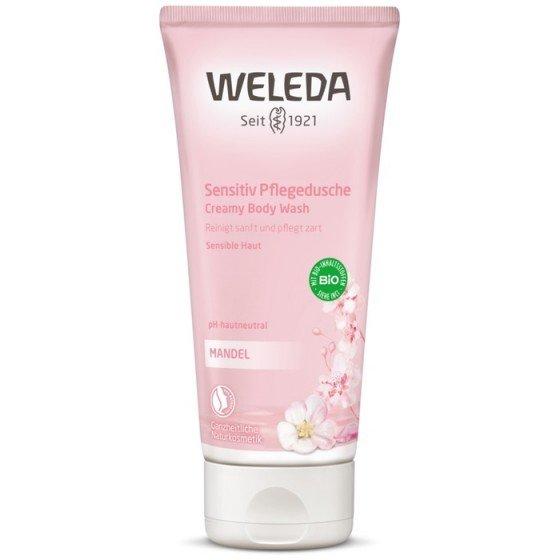 WELEDA / ВЕЛЕДА Душ-гел с бадем за чувствителна кожа 200 мл
