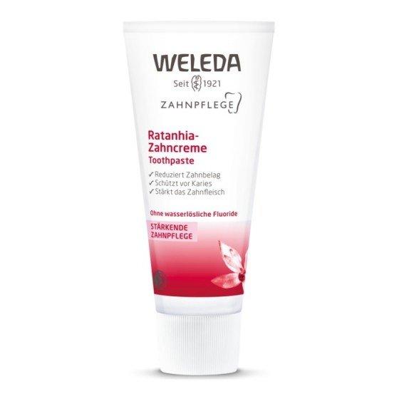 WELEDA / ВЕЛЕДА паста за зъби с ратания 75 мл