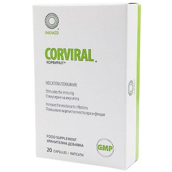 CORVIRAL / КОРВИРАЛ за имунитет 20 капсули