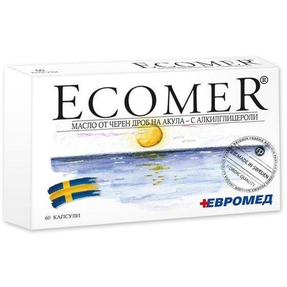 ECOMER / ЕКОМЕР стимулатор на имунната система 250 мг 60 капсули