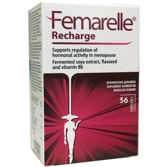 FEMARELLE Recharge / ФЕМАРЕЛ Речардж при менопауза 56 капсули