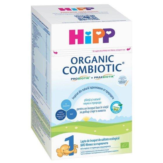 HIPP COMBIOTIK 1 / ХИП КОМБИОТИК 1 адаптирано мляко за кърмачета 0+ месеца 800 г