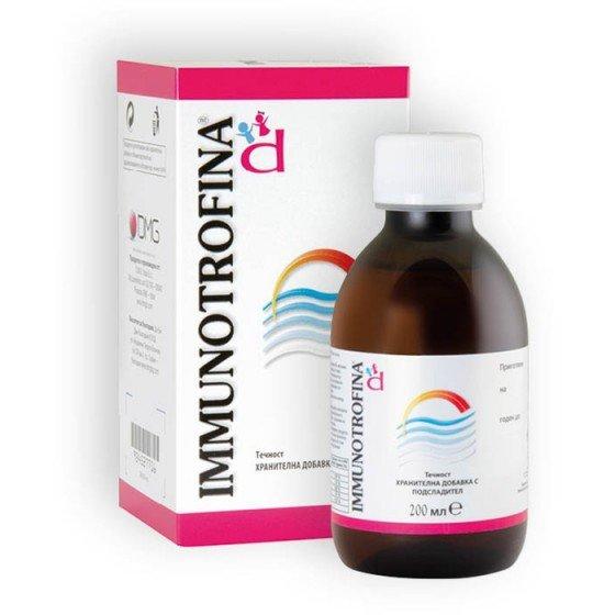 IMMUNOTROFINA / ИМУНОТРОФИНА за имунитет сироп 200 мл