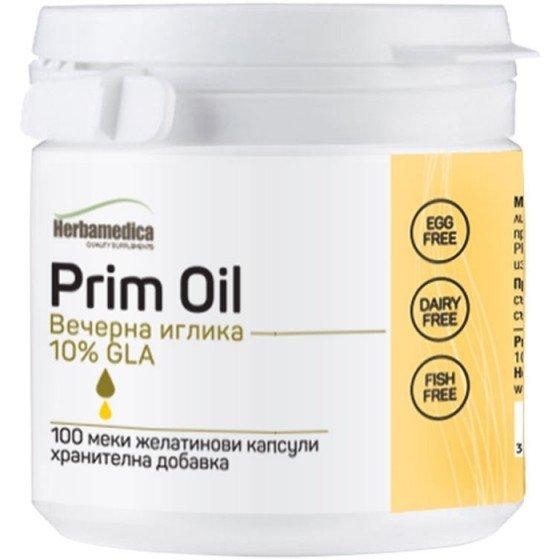 PRIM OIL / ПРИМ ОЙЛ масло от вечерна иглика 500 мг 100 капсули