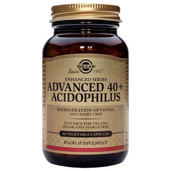 Solgar / Солгар ADVANCED 40+ ACIDOPHILUS 60 веган капсули