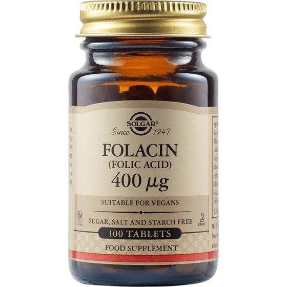 Solgar / Солгар Фолиева Киселина 400 mcg, 100 таблетки