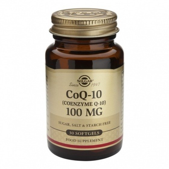 Solgar / Солгар Коензим Q10 100мг 30 меки капсули