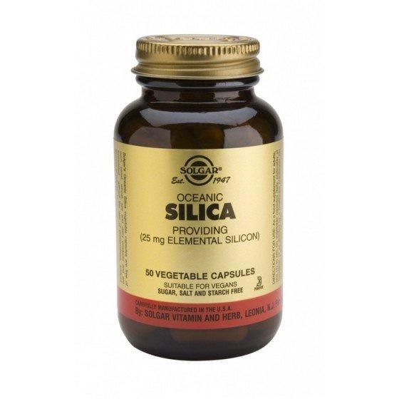 Solgar / Солгар Океански Силиций 25 мг 50 Капсули