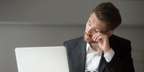 Синдром на компютърното зрение: очи, уморени от eкрана